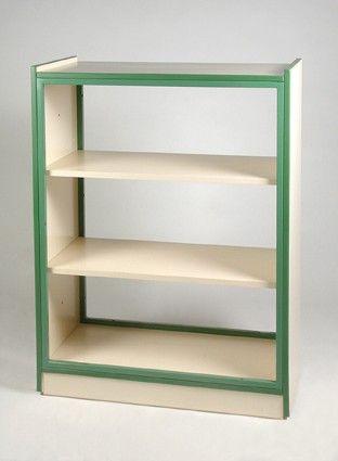 Ea2c estanter a modular abierta a dos caras mobiliario for Estanterias modulares